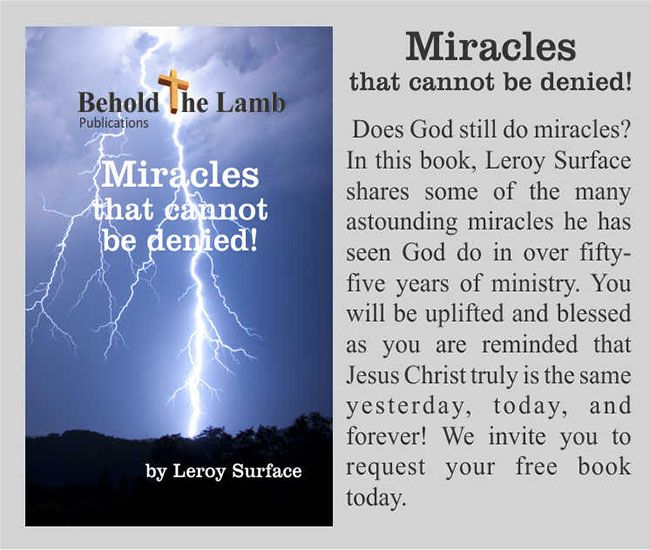 Miracles that cannot be denied