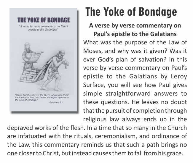 The Yoke of Bondage