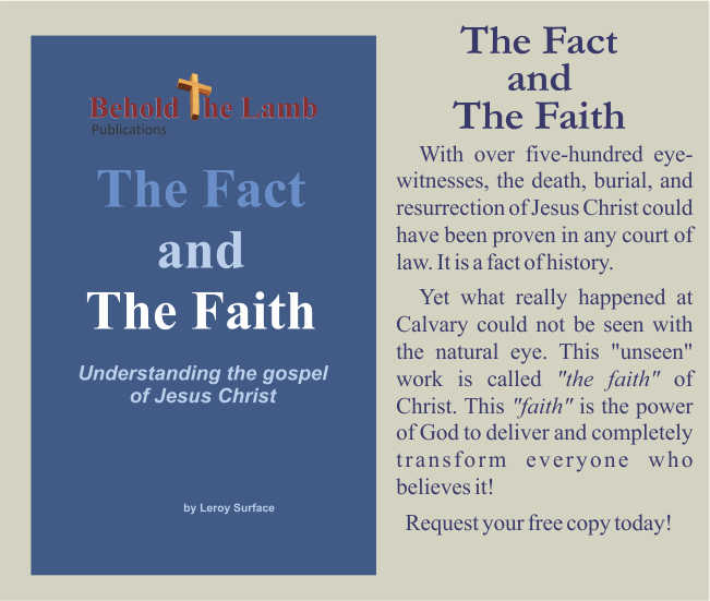 The Fact and the Faith